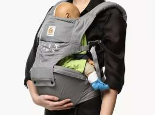 Ergobaby Hip Seat 6-Position Baby Carrier (Galaxy Gray)