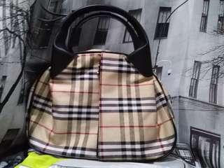 Checkered Handbag