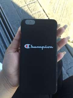 Champion iphone 6 plus case