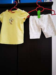 Trudy & teddy Baby girl set