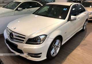Mercedes Benz C300 (V6 Engine with Twin Exhaust, High Spec) @ $82,800 (Used Car)
