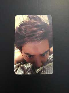 EXO Chanyeol Sing For You Photocard