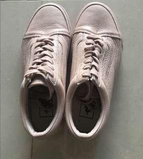 Authentic Vans Old Skool Leather