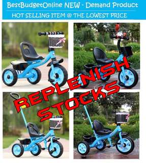 🚚 Toddler's Tricycle up to Age 5