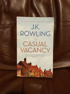 Casual Vacancy by JK Rowling