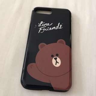 Line iPhone 7 Plus case