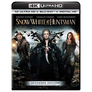 🆕 Snow White and the Huntsman 4K UHD + Blu Ray