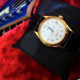 "dijual 1 buah jam tangan rare YEMA PARIS ""SWISS MADE"" From 90's Kondisi NOS"