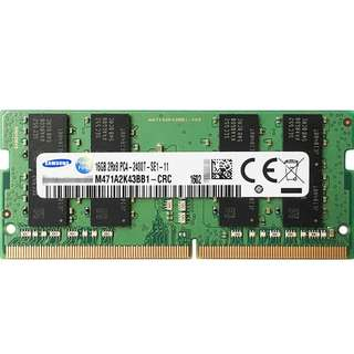 BNISB Samsung 16GB DDR4 2400 MHz (PC4-19200) SODIMM Ram for laptop & Apple iMac
