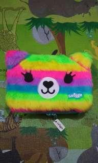 Smiggle Fluffybear Hardtop Pencil Case