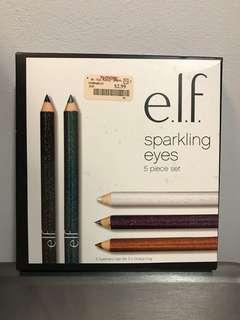 e.l.f. sparkling shimmer eyes 5 piece set elf