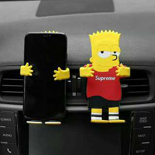 Creative Car Phone Holder