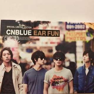 [已拆全新]韓國男團CNBLUE 《EAR FUN》特別限量版CD+DVD 附寫真 鄭容和版本