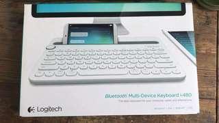 Logitech K480 bluetooth keyboard 藍芽鍵盤