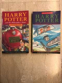 Harry Potter books by JK Rowling