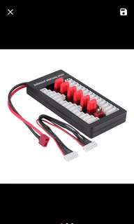 Parallel lipo charger for Dean plug.
