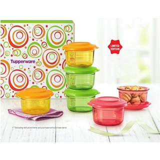 100% Original Tupperware Crystal Candy Set