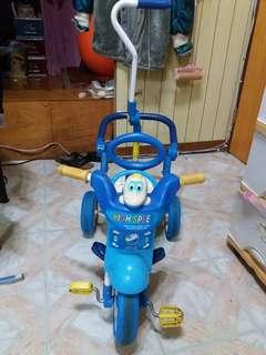 🚚 幼兒三輪車兼推車