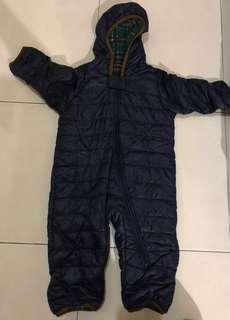 New Uniqlo Baby warm lite winter suit
