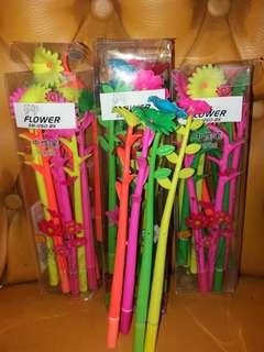 pulpen murah  bentuk bunga