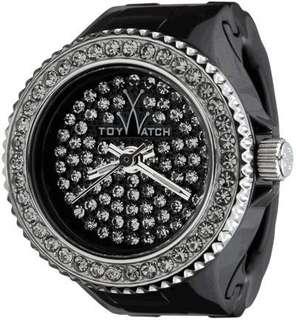 ToyWatch Women's Black Toy Ring Watch 女裝介子晶石手錶