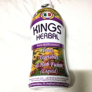 AUTHORIZED RESELLER ➡️ KINGS HERBAL Food Supplement (750ml) ANNIVERSARY PROMO