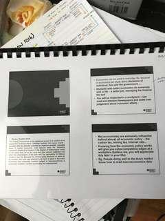 ECON 1016 Macroeconomic lec notes + personal notes