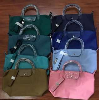 Authentic Longchamp bag with sling