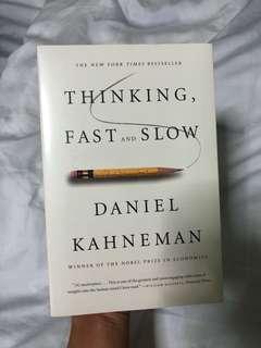 [New] Thinking, Fast and Slow - Daniel Kahneman