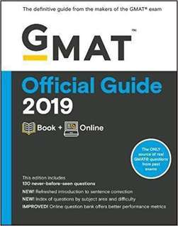 [New] GMAT Official Guide 2019: Book + Online