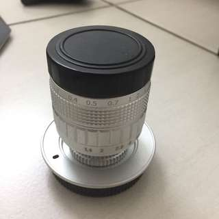 50mm f1.4 for micro 3/4 camera (fully manual)