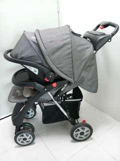Baby Stroller + Carrier