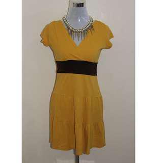 Casual V neck dress for women