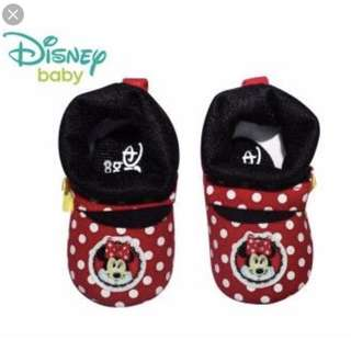 Disney Baby shoes minnie mouse 0-6 mos