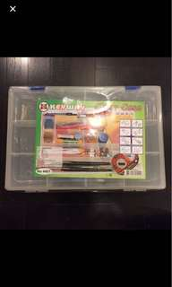 Clear Plastic Box with compartments