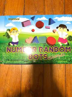 Shichida Tensai Flashcard Number Random Dots
