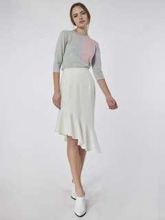BNWT Collate Asymmetrical flounce skirt
