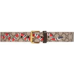 全新 Gucci snake belt 2018