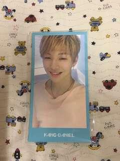 Wanna one membership kit photocard ( Kang Daniel)