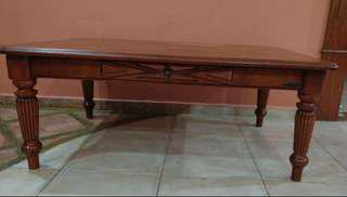 Coffee table (Rubber wood)