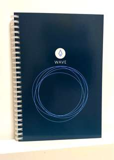 Rocketbook Wave A5 Microwave Erase Reusable Notebook