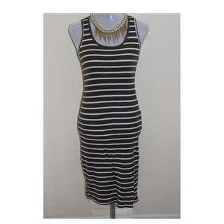 Casual long body fit dress for women