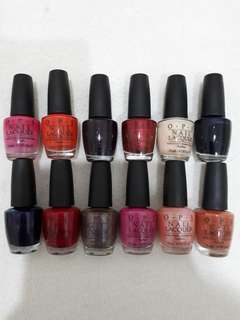 OPI Nail Polish( new & used)