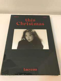 [BRAND NEW] Taeyeon 'THIS CHRISMAS - Winter Is Coming' Album