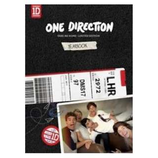 ONE DIRECTION TAKE ME HOME - LIMITED YEARBOOK EDITION