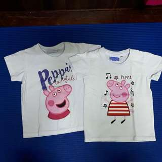 Peppa Pig shirts