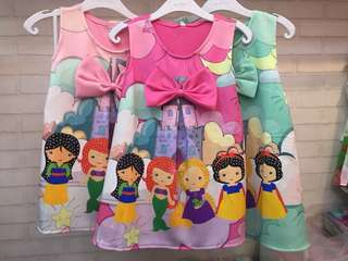 Dress Princess Pita 3 Warna
