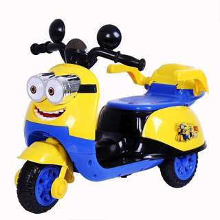 🚚 **In Stock** Minion Electric Scooter