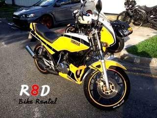 RXZ motor bike rental