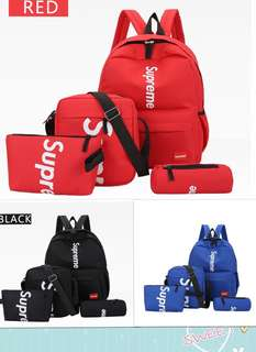 Supreme 4 pcs bag set
